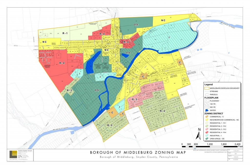 Middleburg Zoning Map
